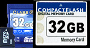 Bulk Flash Memory Cards
