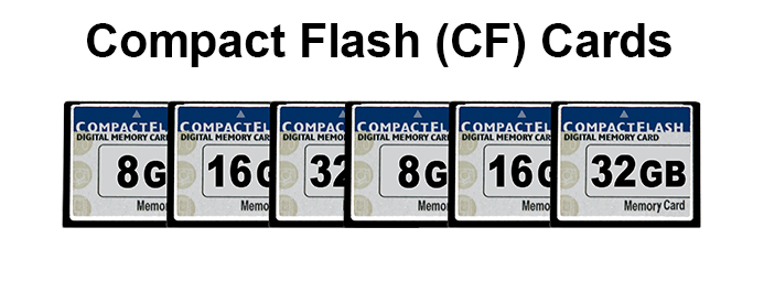 CF Compact Flash Cards-Banner