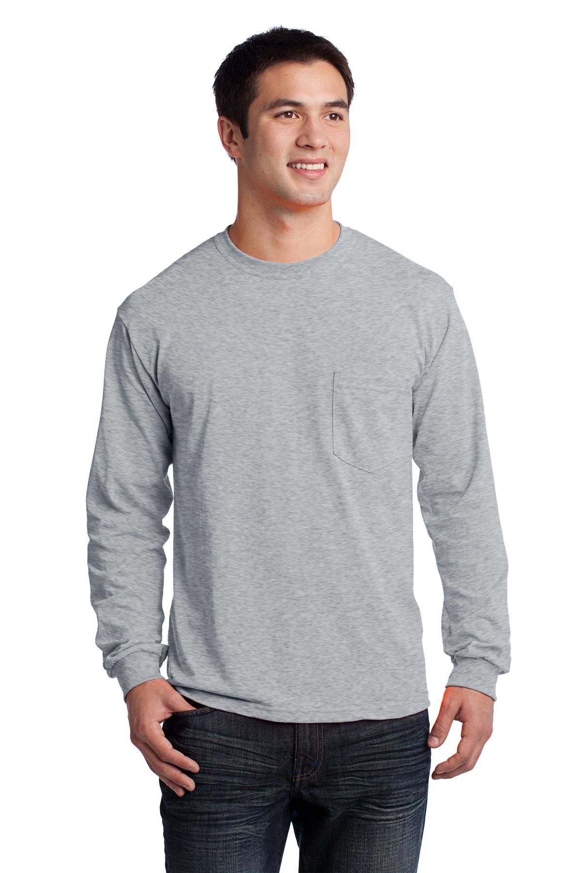 Gildan Ultra Cotton Long Sleeve T-shirt Cotton Long Sleeve T-shirt