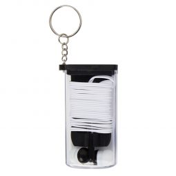#CM 2706 Earbuds And Cord Organizer Key Chain