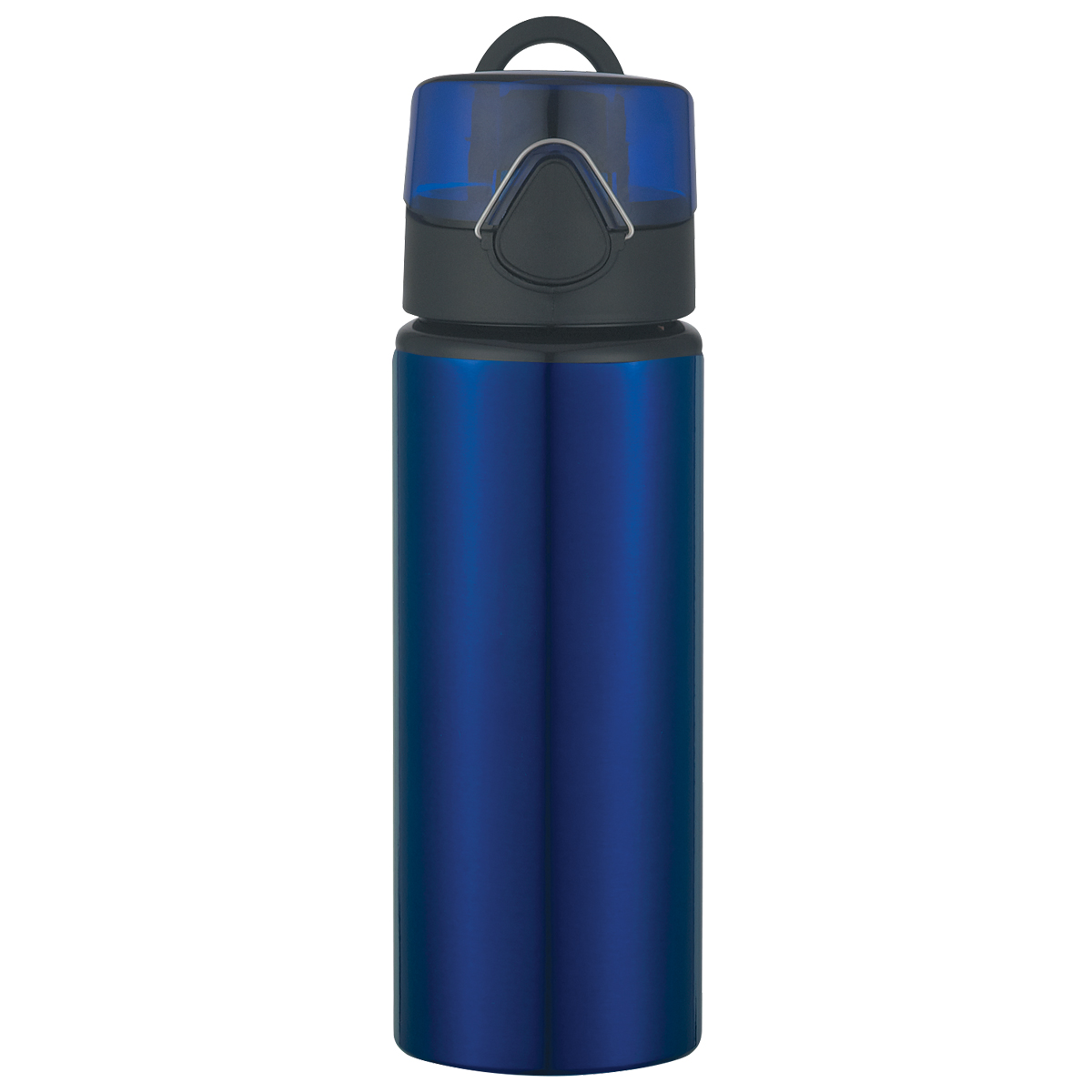 #CM 5704 - 25 Oz. Aluminum Sports Bottle With Flip-Top Lid