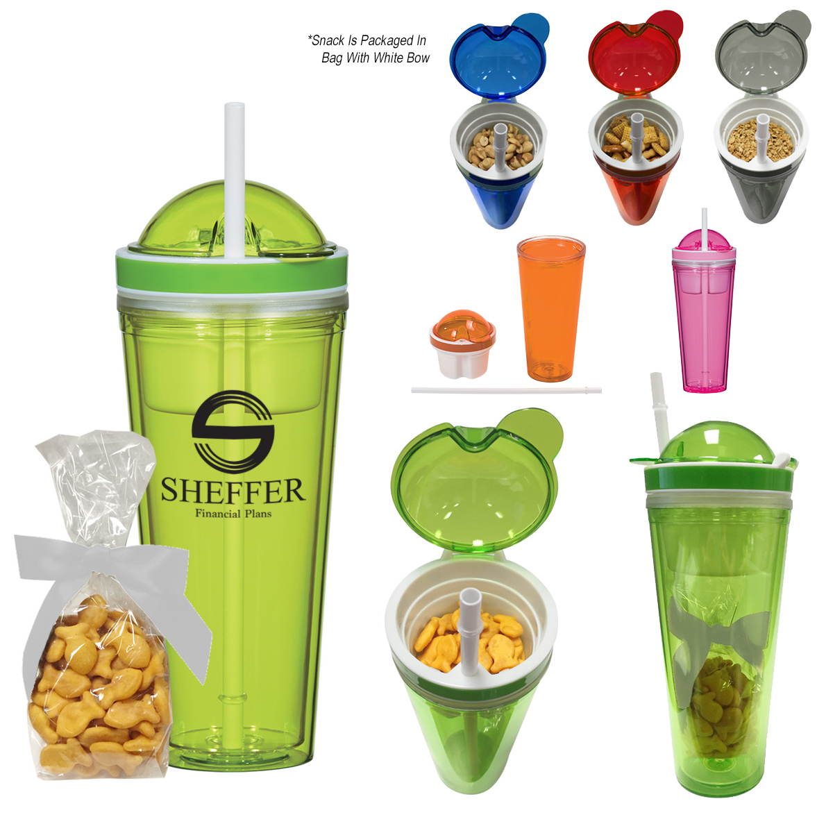 #CM 5947F Snack Attack Tumbler With Stuffer