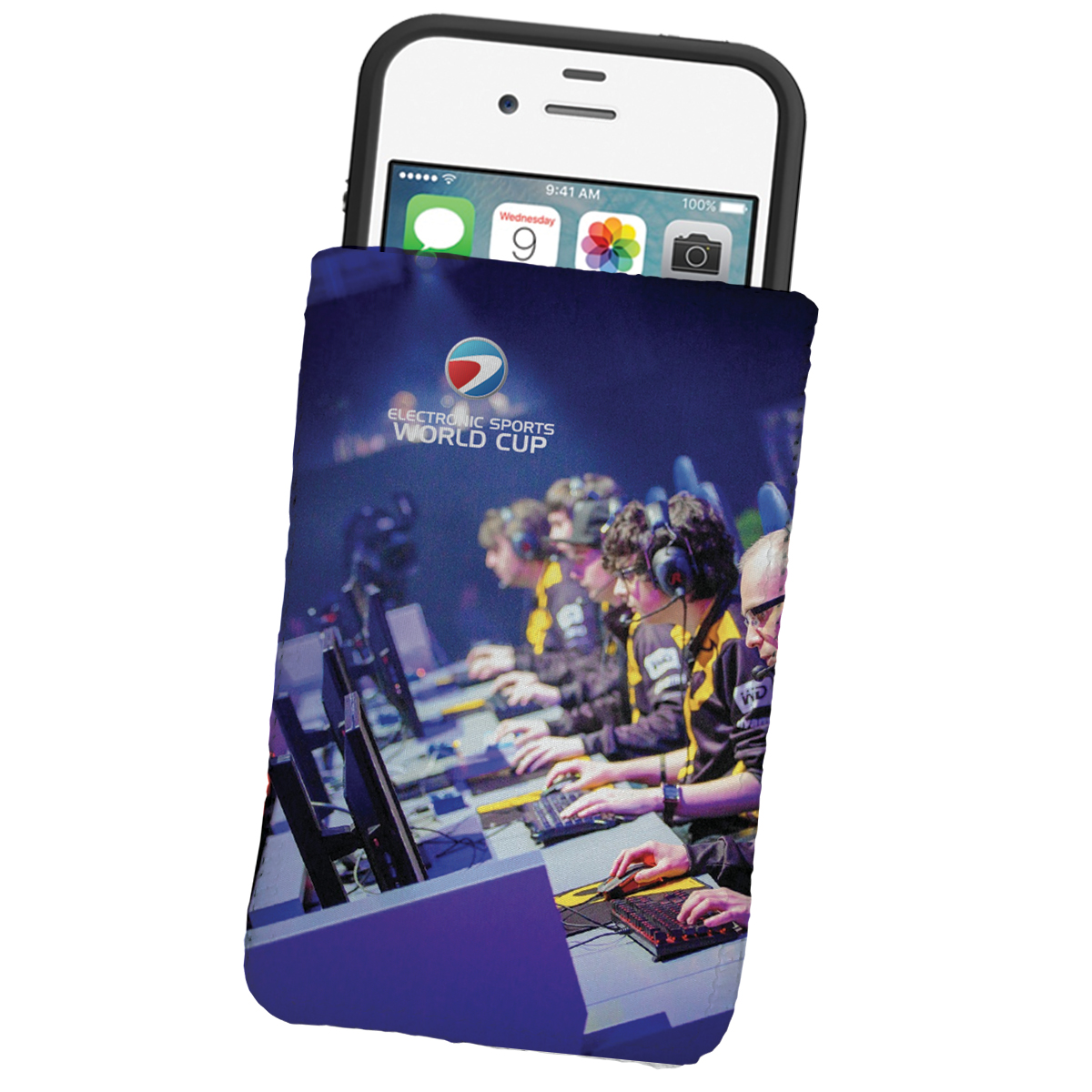 # CM MICROFIBER-PCH Dye Sublimated Microfiber Phone Wallet Pouch or Sleeve