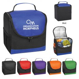 #CM 3315 Non-Woven Thrifty Lunch Kooler Bag