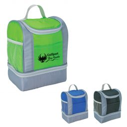 #CM 3500 Two-Tone Kooler Lunch Bag