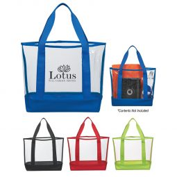 #CM 3604 Clear Casual Tote Bag