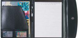 """#CM 6404 Leather Look 8 ½"""" x 11"""" Portfolio"""