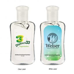 #CM 9027 - 3 Oz. Hand Sanitizer Fashion Bottle