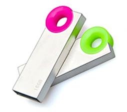 Capless USB Flash Drives