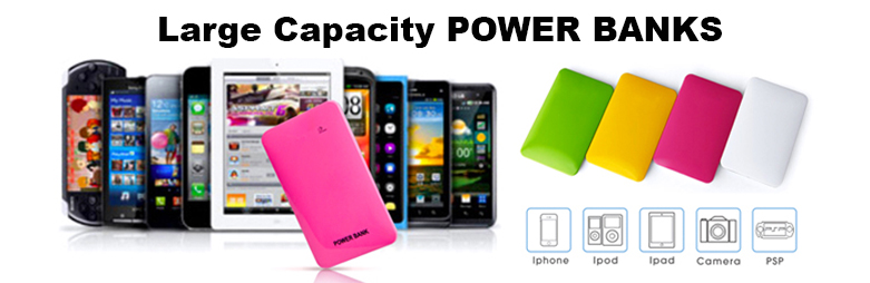 Large Capacity Power Banks
