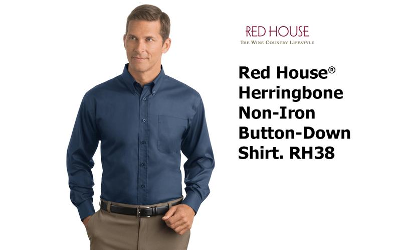 11b42e45 Red House® - Herringbone Non-Iron Button-Down Shirt. RH38 - Custom ...