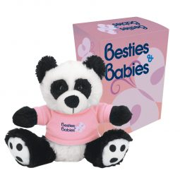 "#CM 1261P - 6"" Big Paw Panda With Custom Box"