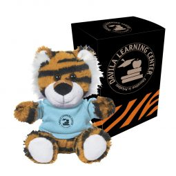 "#CM 1263P - 6"" Terrific Tiger With Custom Box"