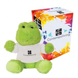 "#CM 1267P - 6"" Fantastic Frog With Custom Box"