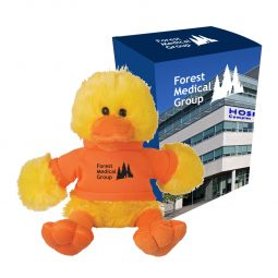 "#CM 1269P - 6"" Delightful Duck With Custom Box"