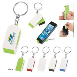 #CM 189 Phone Stand And Screen Cleaner Combo Key Chain