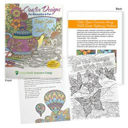 #CM 1950 Creative Designs For Relaxation & Fun Adult Coloring Book