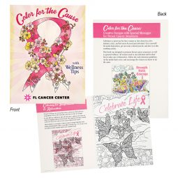 #CM 1955 Color For The Cause Creative Designs For Breast Cancer Awareness Coloring Book