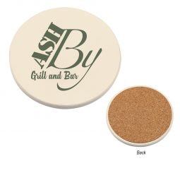 #CM 2007 Round Absorbent Coaster