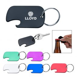 #CM 2063 Dog Tag Bottle Opener Key Ring