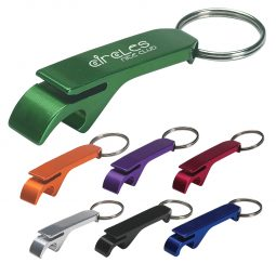 #CM 2064 Aluminum Bottle/Can Opener Key Ring
