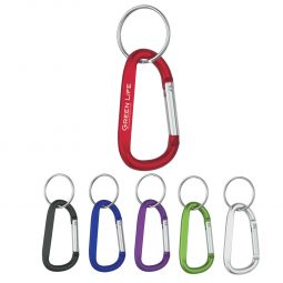 #CM 2082 - 8mm Carabiner With Split Ring