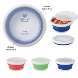 #CM 2113PH Collapsible Food Bowl With Custom Handle Box
