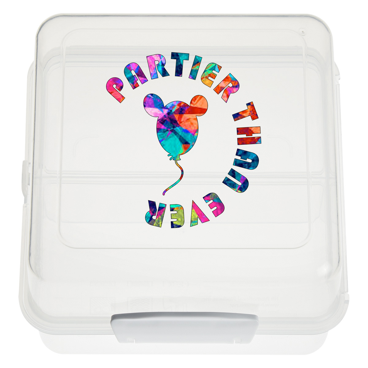 #CM 2116 Split-Level Lunch Container