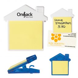 #CM 212 House Clip With Sticky Notes