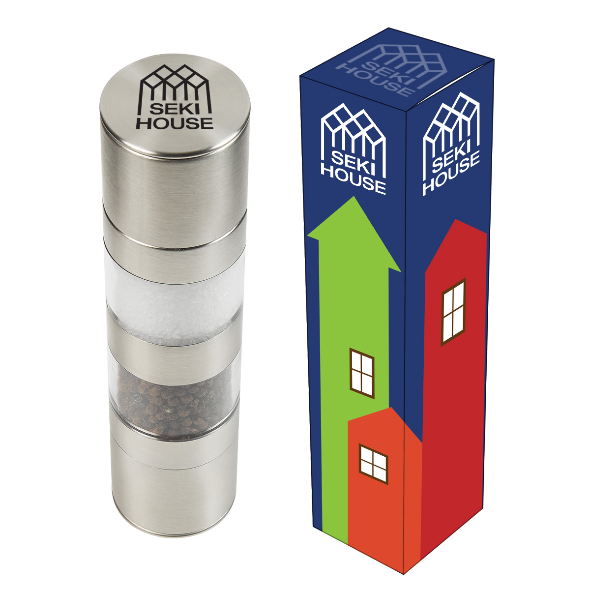 #CM 2132P Salt & Pepper Mill With Custom Box