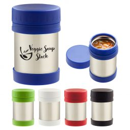 #CM 2159 - 12 Oz. Stainless Steel Insulated Food Container