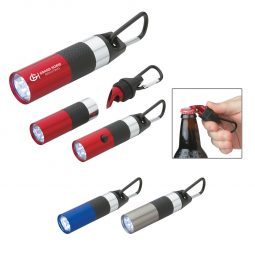 #CM 2507 Aluminum LED Torch With Bottle Opener