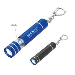#CM 2521 Aluminum LED Light/Lantern With Key Clip