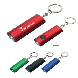 #CM 2526 Aluminum Key Chain Flashlight