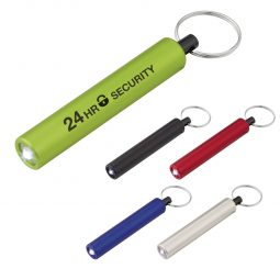 #CM 2532 Mini Cylinder LED Flashlight Key Tag