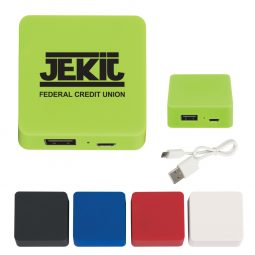 #CM 2619UL UL Listed Power Bank With Rubber Finish