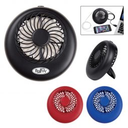 #CM 2683 - 2-In-1 Power Bank With Personal Fan