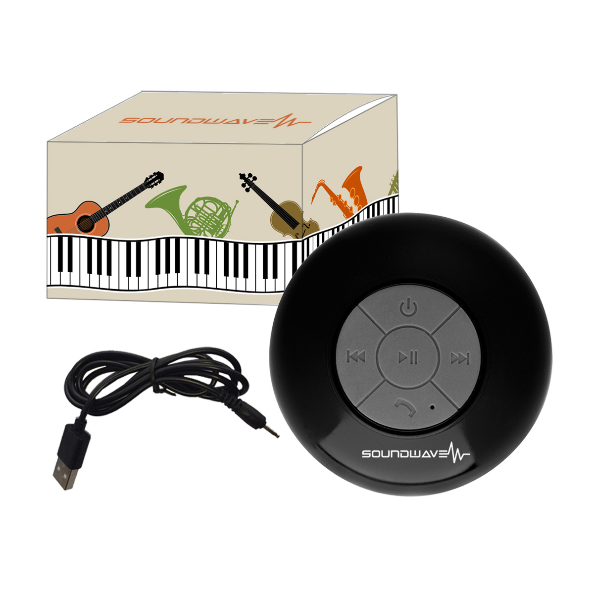 #CM 2745P Waterproof Shower Speaker With Custom Box