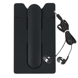 #CM 2757 Phone Wallet With Earbuds