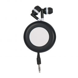 #CM 2785 Retro Retractable Earbuds