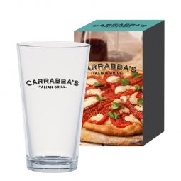 #CM 6015P - 16 Oz. Classic Ale Pint Glass With Custom Box
