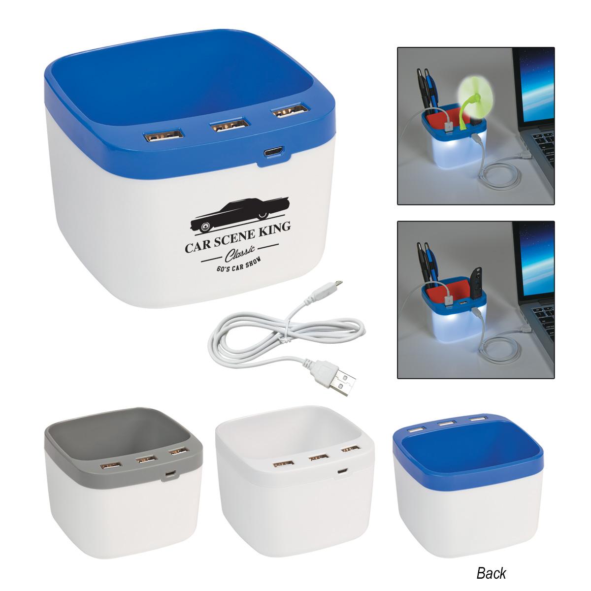 #CM 2835 USB Desk Caddy