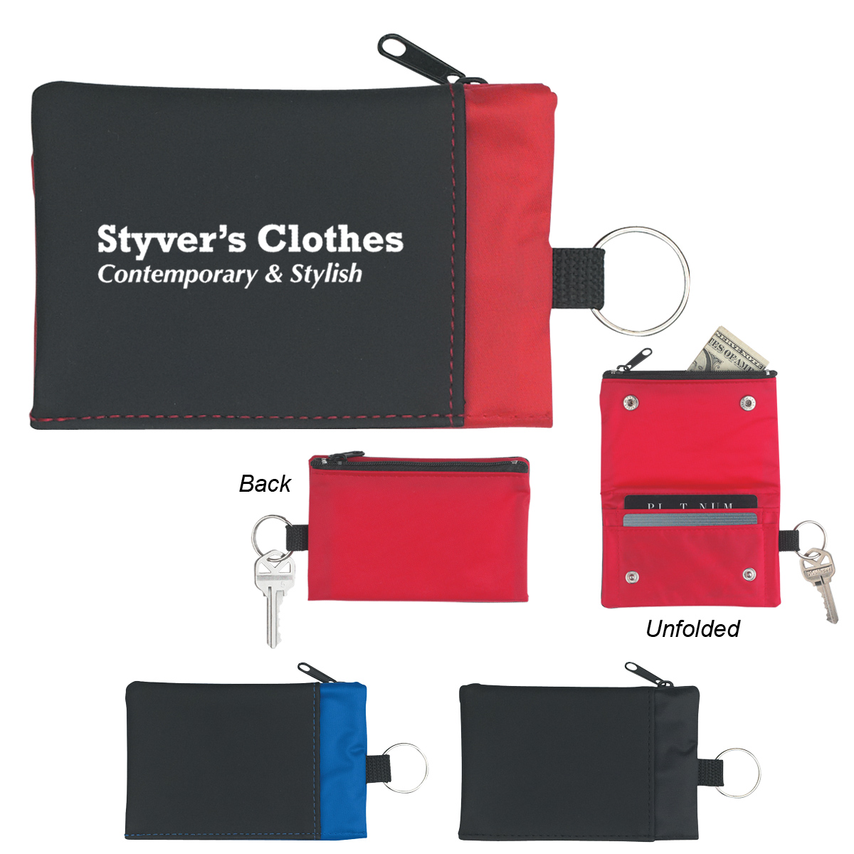 #CM 292 Folding Wallet With Key Ring