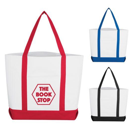 #CM 3008 Pocket Shopper Tote Bag