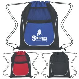 Drawstring Sports Packs - Polyester / Nylon