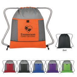 #CM 3069 Honeycomb Ripstop Drawstring Bag