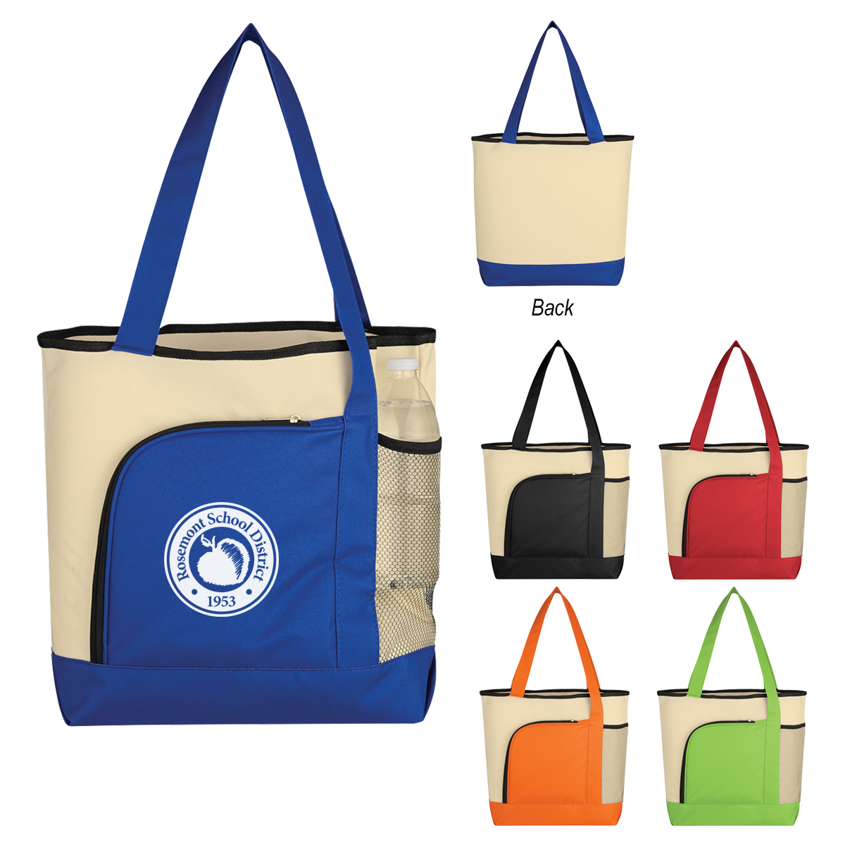 #CM 3183 Around The Bend Tote Bag