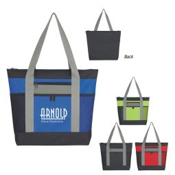 #CM 3193 Tri-Color Tote Bag