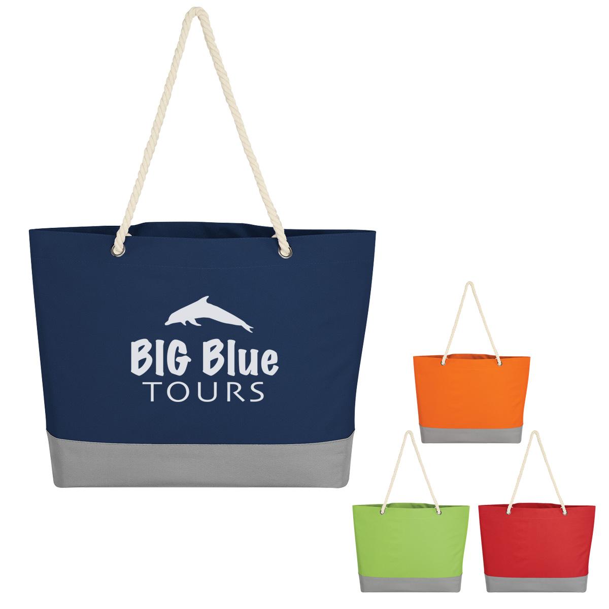 #CM 3195 Boca Tote Bag With Rope Handles