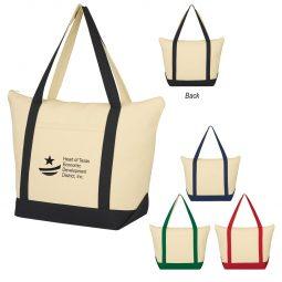 #CM 3215 Folksy Cotton Tote Bag